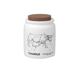 Taurus (April 20th - May 20th) Candy Dishes