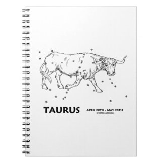 Taurus (April 20th - May 20th) Notebooks