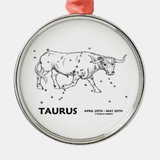 Taurus (April 20th - May 20th) Christmas Tree Ornaments