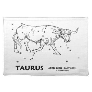 Taurus (April 20th - May 20th) Place Mats