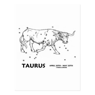 Taurus (April 20th - May 20th) Post Card
