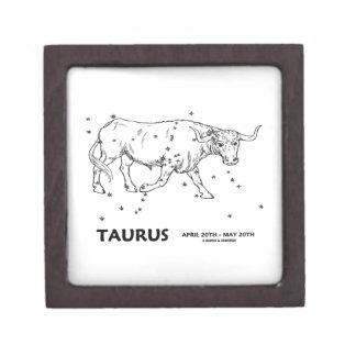 Taurus (April 20th - May 20th) Premium Jewelry Box