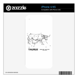 Taurus (April 20th - May 20th) Skins For The iPhone 4S