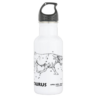 Taurus (April 20th - May 20th) Stainless Steel Water Bottle