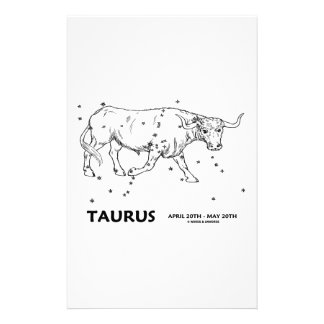Taurus (April 20th - May 20th) Stationery Paper