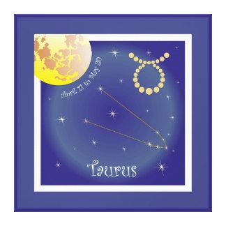 Taurus April 21 tons May 20 canvas Canvas Print