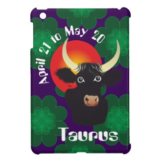 Taurus April 21 tons May 20 iPad mini covering Case For The iPad Mini