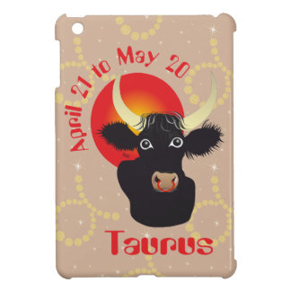 Taurus April 21 tons May 20 iPad mini covering iPad Mini Case
