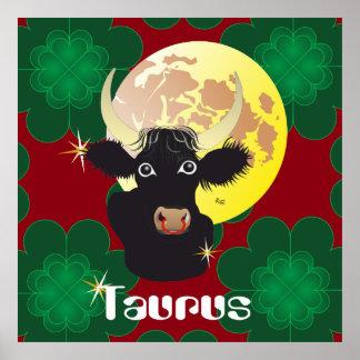 Taurus April 21 tons May 20 posters & kind print