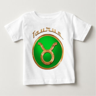 Taurus Astrological Sign Baby T-Shirt