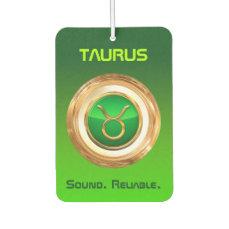 Taurus Astrological Sign Car Air Freshener