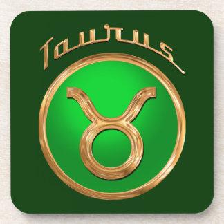 Taurus Astrological Sign Coaster