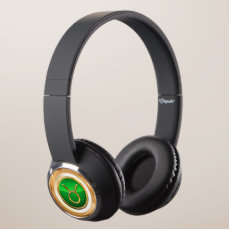 Taurus Astrological Sign Headphones