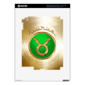 Taurus Astrological Sign iPad 3 Skins