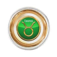 Taurus Astrological Sign Lapel Pin