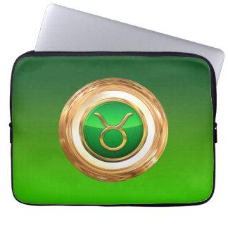 Taurus Astrological Sign Laptop Sleeve