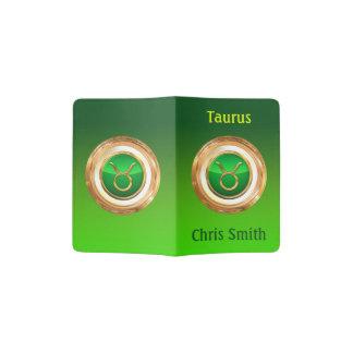 Taurus Astrological Sign Passport Holder