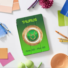 Taurus Astrological Symbol iPad Air Cover