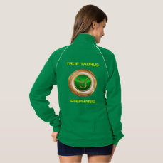 Taurus Astrological Symbol Jacket