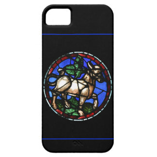 Taurus Astrology Gothic Stained Glass Iphone Case