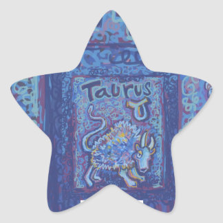 Taurus, Astrology Stickers