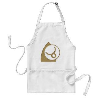Taurus Astrology Zodiac Glyph +gift Adult Apron