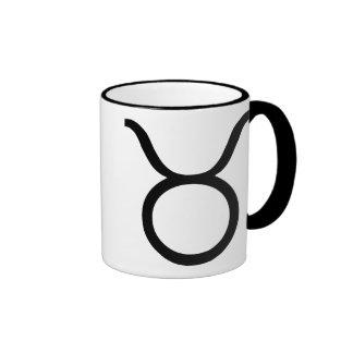 taurus black mugs