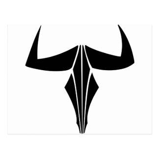 Taurus Bull Postcard