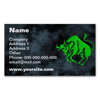 Taurus Business Card Magnet