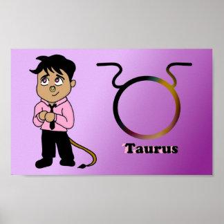 Taurus Chibi Poster