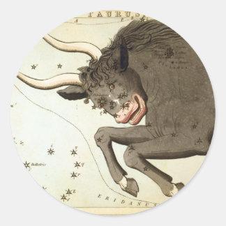 Taurus Classic Round Sticker