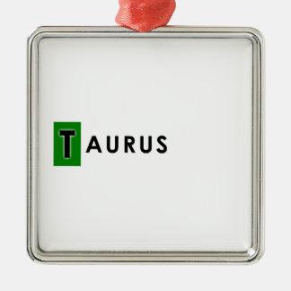 TAURUS COLOR METAL ORNAMENT