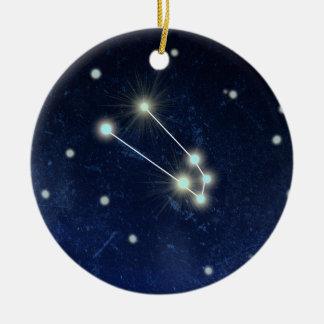 Taurus Constellation | Custom Name Ceramic Ornament