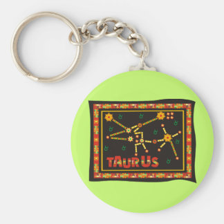 Taurus Constellation Keychain
