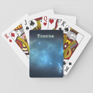 Taurus constellation playing cards
