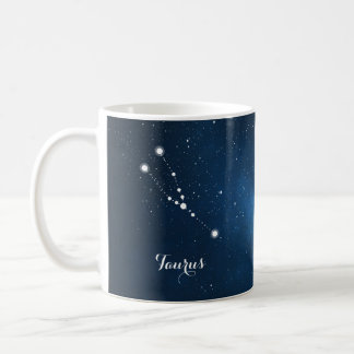 Taurus Constellation Zodiac Star Sign Coffee Mug