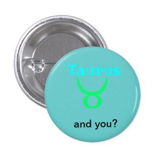 Taurus Conversational Theme Astrology Button