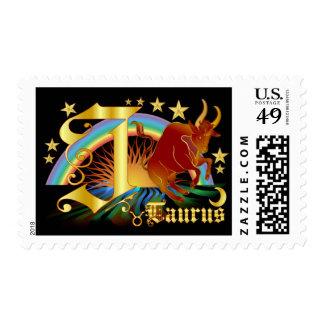 Taurus-Design-1-J Stamp