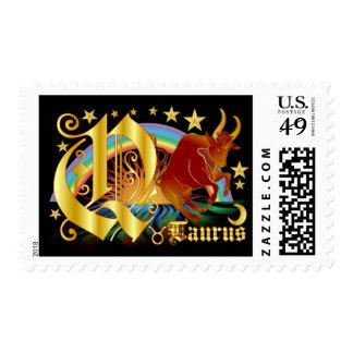 Taurus-Design Font-2-Q Postage
