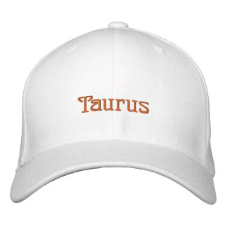 TAURUS EMBROIDERED BASEBALL CAPS