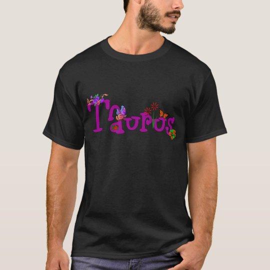 Taurus Flowers T-Shirt