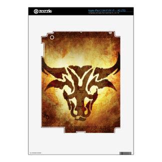Taurus Horoscope iPad 3 Skin
