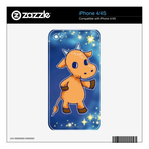 Taurus iPhone 4 Decals