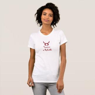 Taurus is Reliable Light-colored Zodiac Tshirt