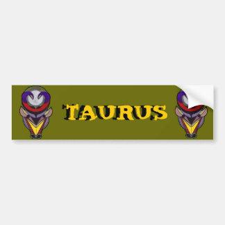 TAURUS LOGO BUMPER STICKER