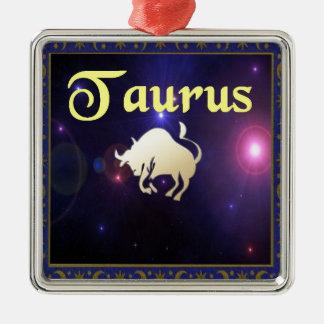 Taurus Metal Ornament