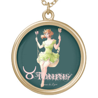 Taurus Personalized Necklace