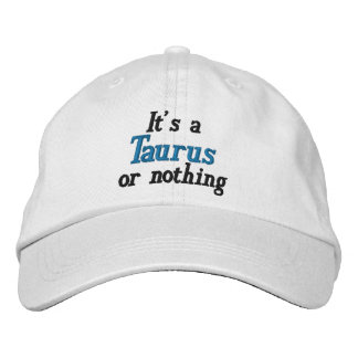 Taurus Or Nothing Embroidered Baseball Cap