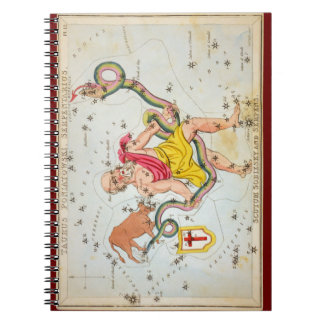 Taurus Poniatowski, Serpentarius, etc Spiral Note Books