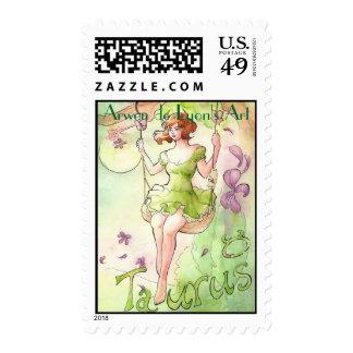 Taurus Postage Stamp